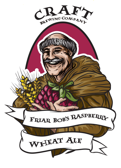 Friar Bobs Raspberry Wheat Ale