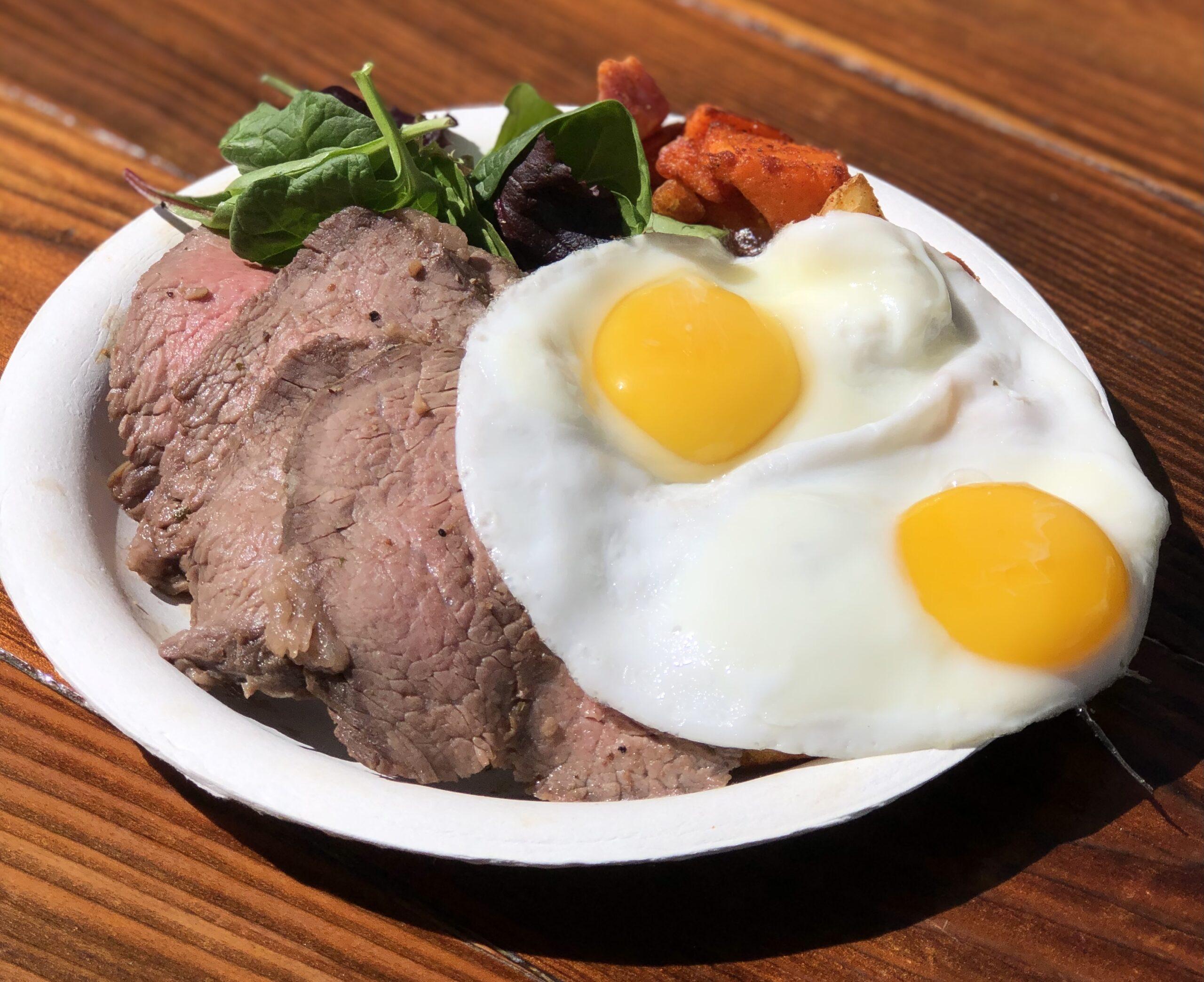 Steak Eggs